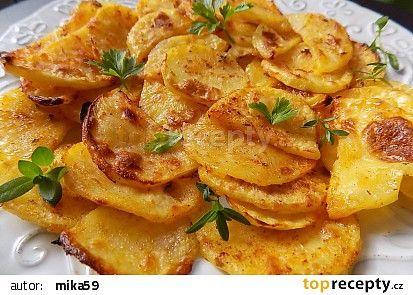 Turecké jogurtové brambory recept - TopRecepty.cz....https://www.toprecepty.cz/recept/49603-turecke-jogurtove-brambory