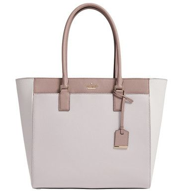 'cameron street by Kate Spade New York. A padded center-zip compartment keeps your laptop secure in this tech-savvy tote with style to spare. Two deep interi...
