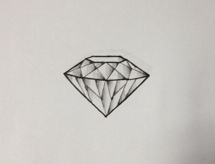 3D diamond tattoo idea. Diamonds are pure and indestructible. Love the meaning!