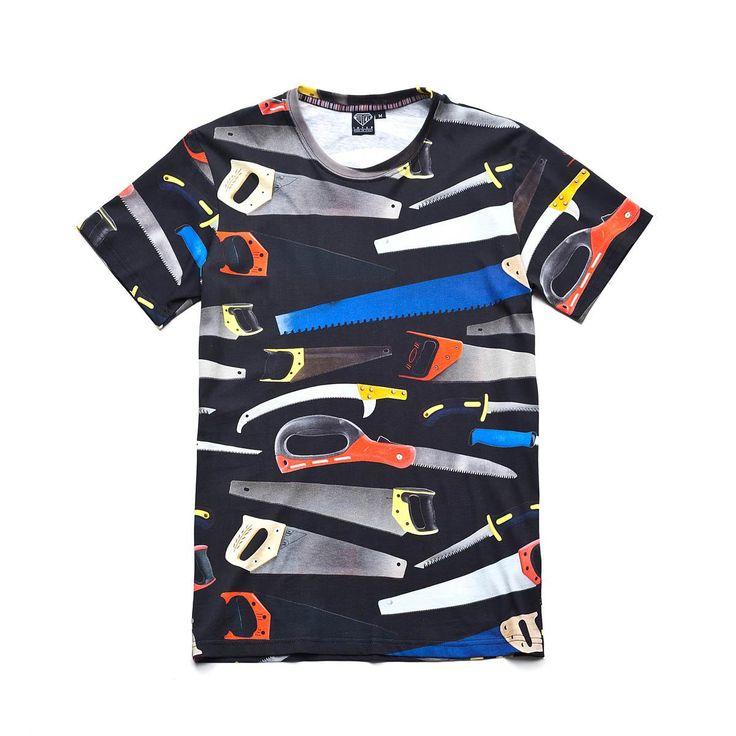 Iuter SAW FULLPRINT TEE Full Print Regular Fit T-Shirt