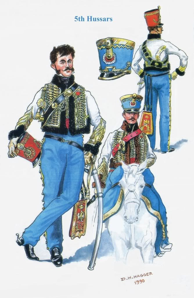 French; 5th Hussars by D H Hagger from Military Modelling