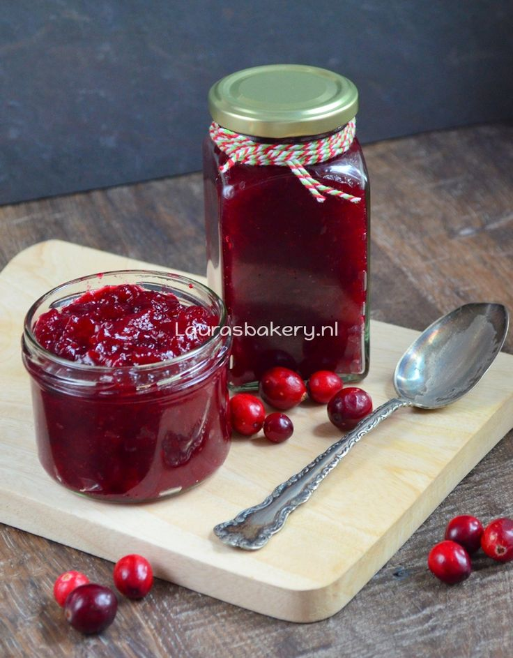 Cranberry compote - Laura's Bakery