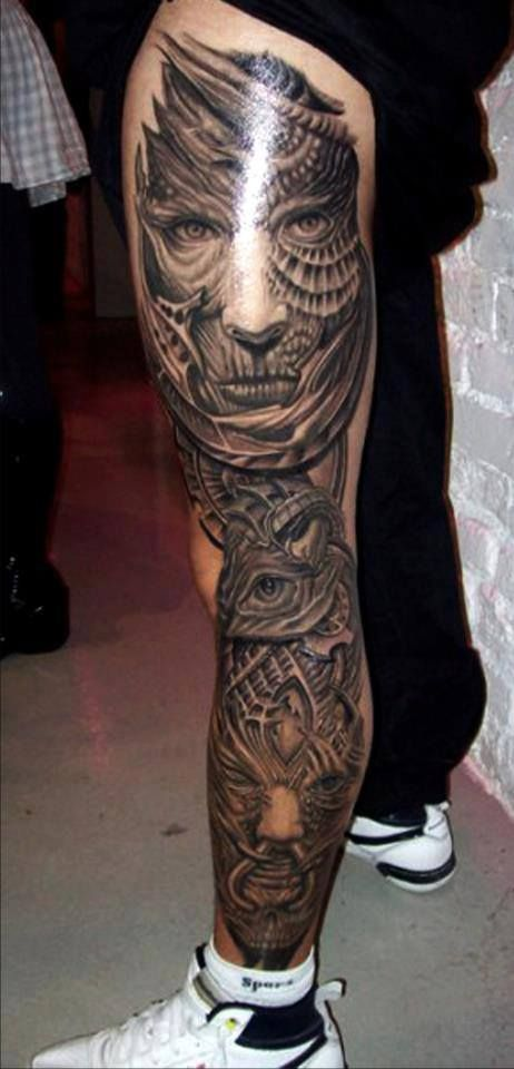 full sleeve 3d tattoos for men - TheOnlineCentral.com
