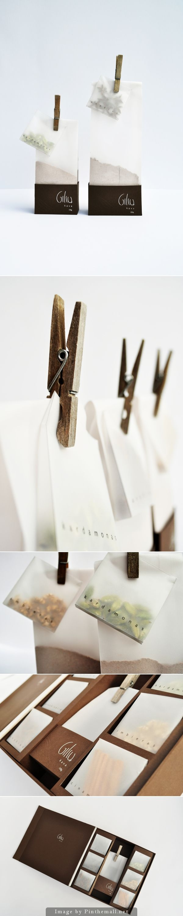 Packaging / Acorn coffee, by: Evelina Baniulyte, Lithuania//