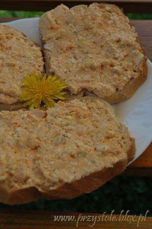 Pasta serowa z ziołami