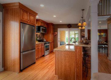 Split entry remodel split entry and decor on pinterest for Split foyer kitchen