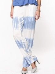Femella Elasticated Tie And Dye Trousers