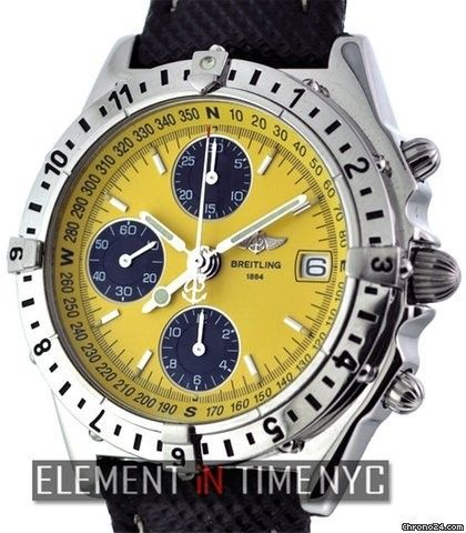 Breitling Chronomat Longitude Chronograph Ref. A20048 Price On Request