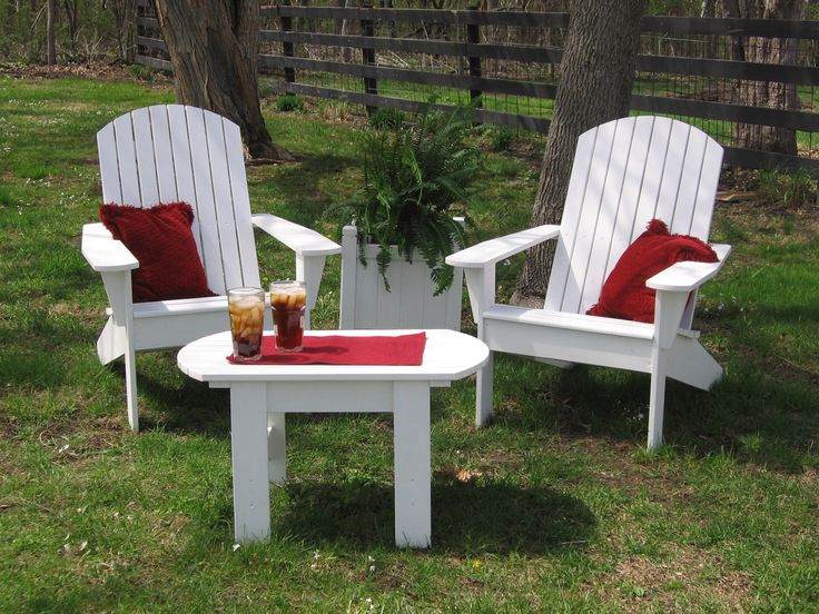 Exterior Design: Furniture Adirondack Chair Cushions With White .