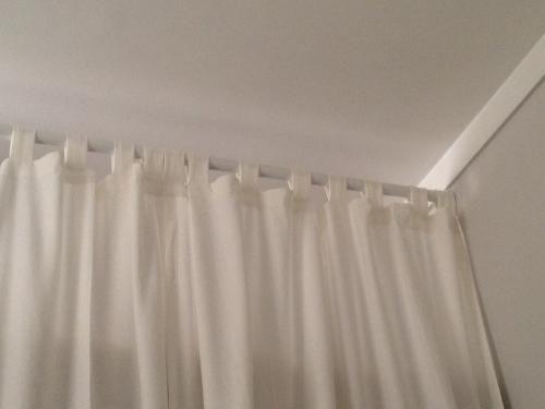 14 ft tension rod for room divider home dec home ec pinterest tension rods closet rod and. Black Bedroom Furniture Sets. Home Design Ideas