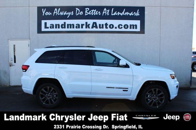 2017 Jeep Grand Cherokee Limited SUV #white #jeep #LandmarkJeep #springfieldil #auto