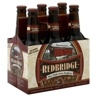 Redbridge Beer -not like a 'real' thirst quenching beer- but best GF he's found.