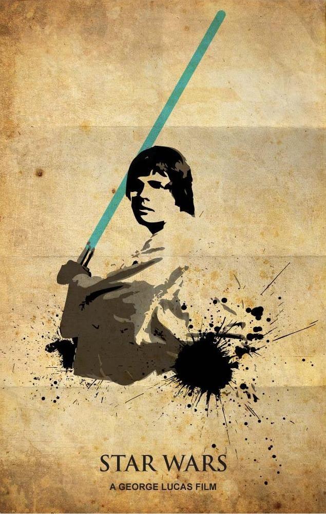 STAR WARS Luke Skywalker Poster