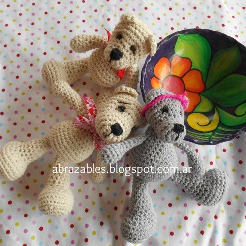 124 best Ositos a crochet. images on Pinterest   Muñecos de ...
