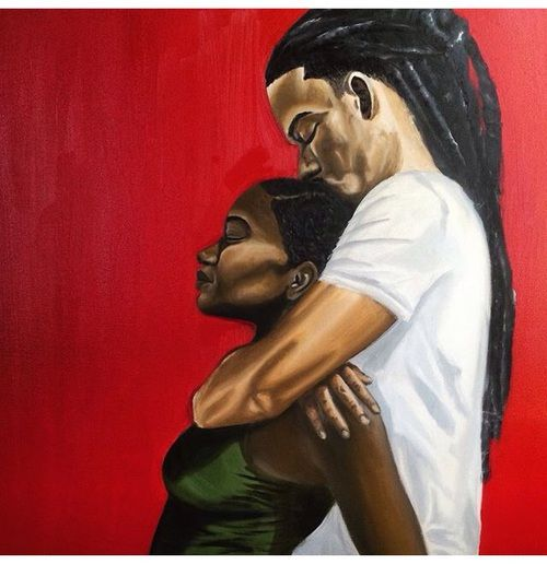 1000 images about black art and images that are powerful for Pictures of black lovers