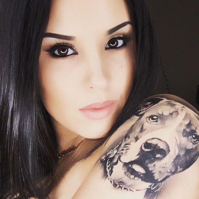 88c9240f3 50 Pitbull Tattoo Snouts Meanings and Designs - We love Dogs | tattoo |  Pitbulls, Bull tattoos, Dog tattoos