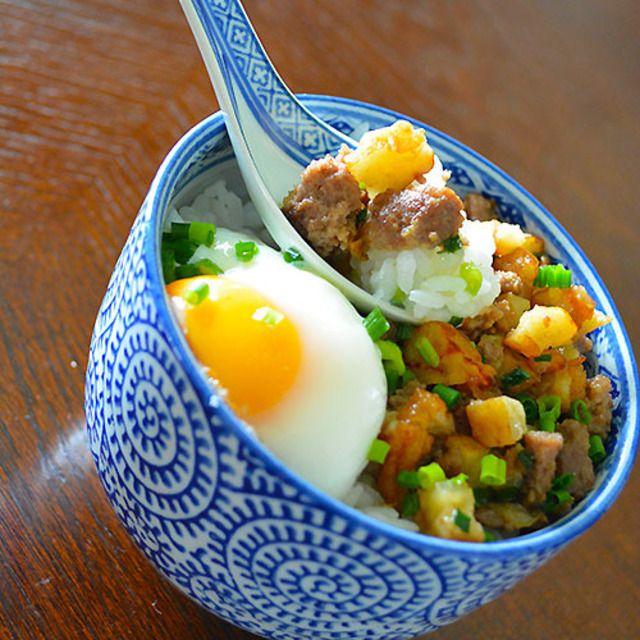 朝ごはん 5分で褒められおかず しゃきっと玉ねぎ天肉そぼろ  夜食にもお弁当にもね