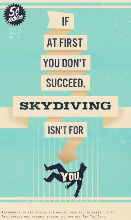 On Skydiving.