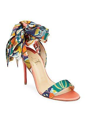8ddd69d2e8e Christian Louboutin Sandale Floral Sandals