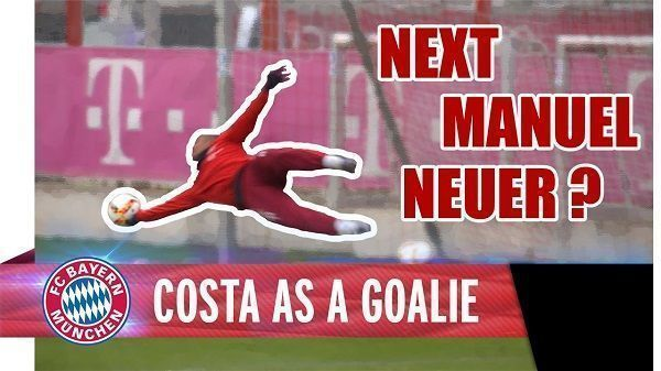 Brazylijczyk pokazał jak się broni strzały kolegów z Bayernu Monachium • Douglas Costa wcielił się w rolę Manuela Neuera • Zobacz >> #bayern #bayernmunich #football #soccer #sports #pilkanozna