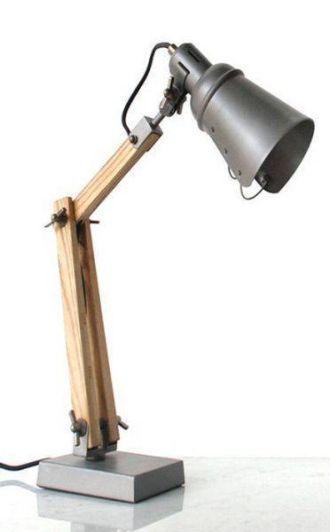 AUSSIE DESIGNED LAMP GUNMETAL