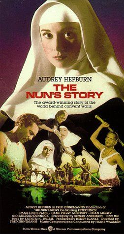 Audrey Hepburn - The Nun's Story (1959) ... Moving religious drama. Sister Luke assigned to a hospital in the Belgian Congo, the novitiate must endure rigorous conditions that test her devotion to her calling. But it's at the outbreak of World War II, when she must obey an edict not to take sides in the conflict, that the nun finds her vows at odds with her personal beliefs. Audrey Hepburn, Peter Finch, Edith Evans...