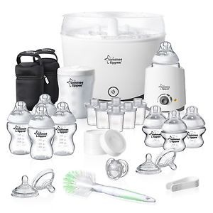 The Tommee Tippee Closer to Nature Complete Starter Kit contains everything you need to make baby feeding straightforward. Description from ebay.co.uk. I searched for this on bing.com/images