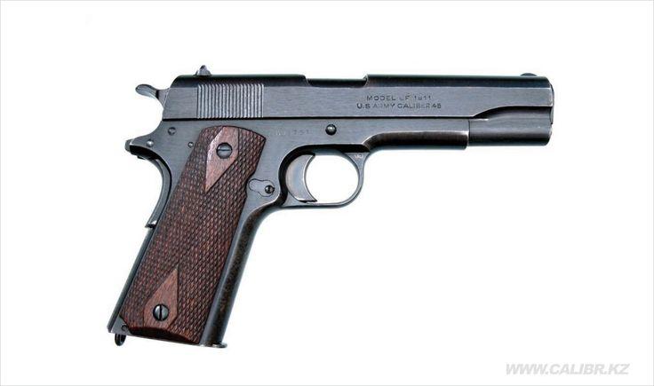 Фото пистолет Colt M1911. Calibr.kz - сайт об оружии в Казахстане