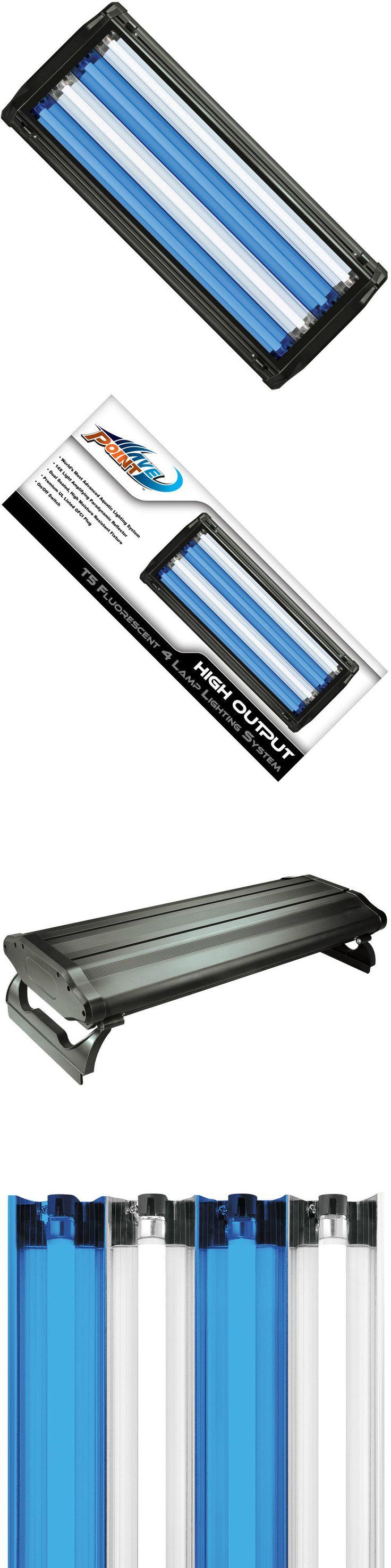 Lighting and Bulbs 46314: Wave Point Aquarium Fish Tank 96-Watt 4X 24W 24 Ho T5 4-Lamp Light Water Resist -> BUY IT NOW ONLY: $130.99 on eBay!