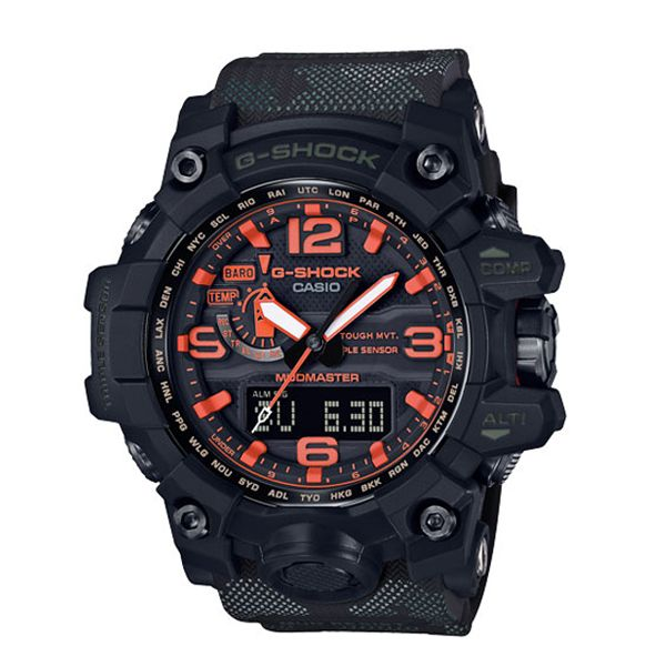 The new Mudmaster model is designed for the toughest environments with a construction to resist mud and ample vibration in harsh environments of rubble, dirt and heavy duty operations.This model is built for maximum durability and function in deserts, heavy machinery, dirt and sludge - featuring Triple Sensor, accurate altimetre/barometre and temperature readings are displayed, along with a compass for assessment in natural conditions.
