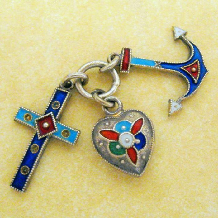 31 Best Faith Hope Charity Images On Pinterest Jewelery Vintage