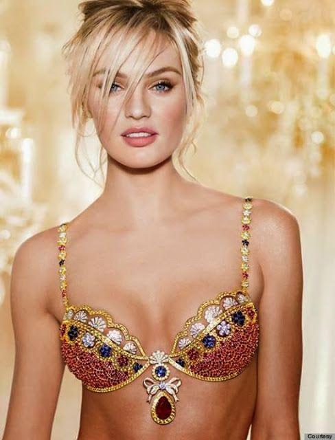 Mode: Victoria's Secret presents Royal Fantsy Bra