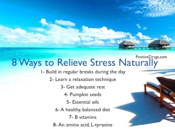 Ways To Relieve Stress Naturally
