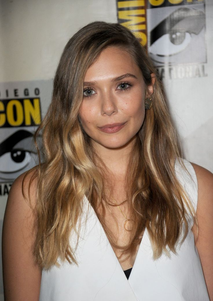 Elizabeth Olsen hair by @Richard Marin for Cloutier Remix