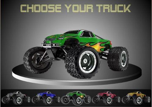 4x4 Monster Truck Racing Game online