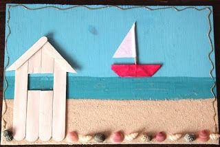 Les ateliers ARTiFun - ateliers créatifs en Guadeloupe - scrapbooking décopatch bricolage peinture: Bateaaauux suuur l'eaauuu...