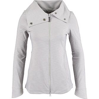 Grey High Neck Zipped Sweater - just for me!