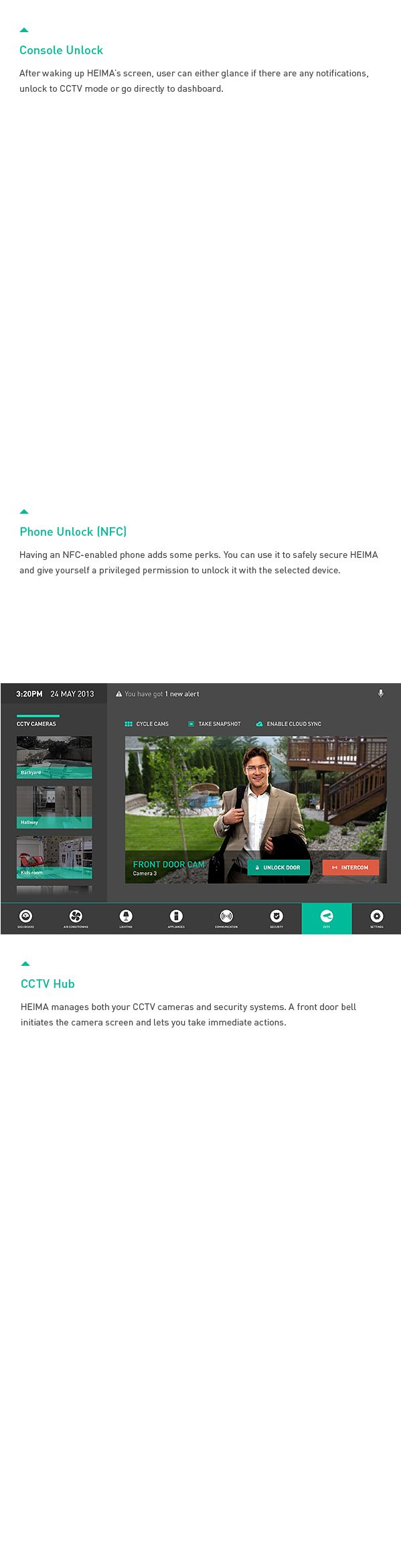 12 best Smart Home UI images on Pinterest | Honours degree ...