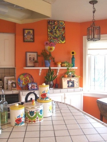 Orange Painted Kitchens 31 best kitchen and living room color ideas images on pinterest