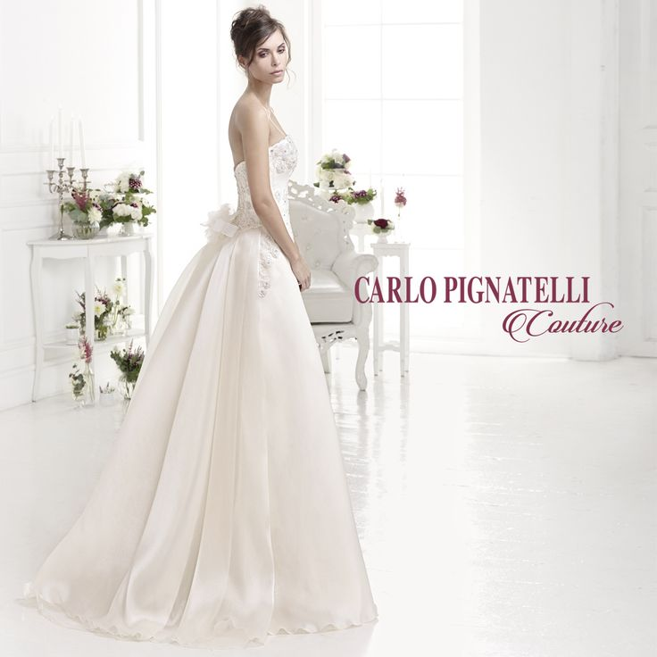 Carlo Pignatelli Couture 2015 #carlopignatelli #giuliarebel #sposa #bride #abitodasposa #dress #wedding #matrimonio #weddingday