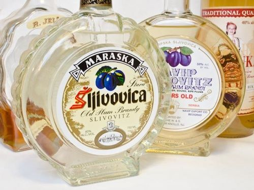 Sljivovica - Serbian plum brandy