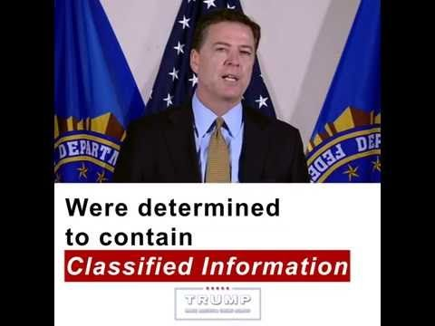 VIDEO DOJ Has Prosecuted Cases Like Hillary's Before; Why Not Now? – FBI Agents' TRUE Feelings About Not Indicting Hillary | Reclaim Our Republic