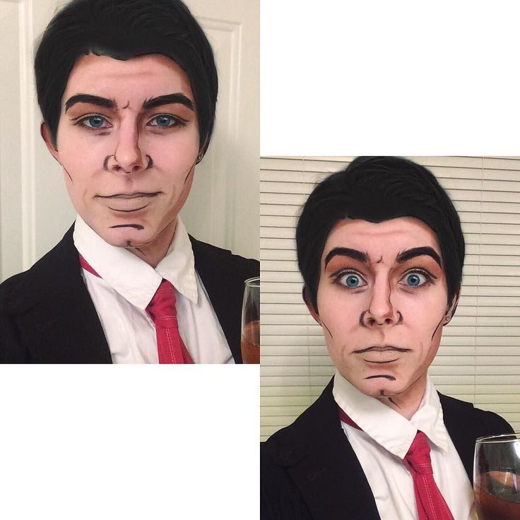 Seriously Lana call Kenny Loggins 'cause youre in the danger zone.  Such college. How busy. So stress. Much study. #closetcosplay #dangerzone #studybreak #archer #sterlingarcher #archermakeup #archercosplay #cosplaymakeup #cosplay