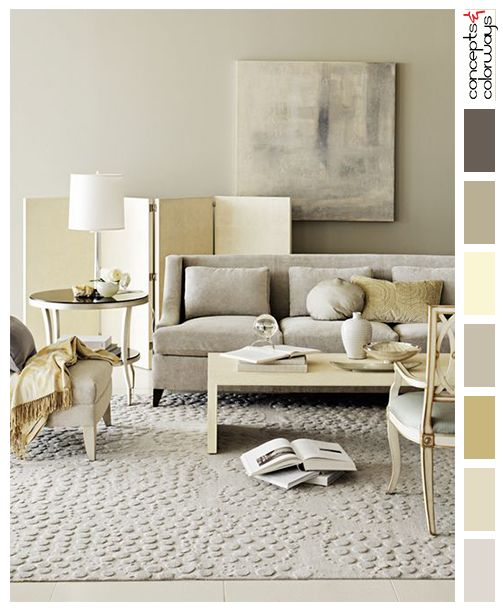 128 best palettes by project images on pinterest - Gray color palette interior ...