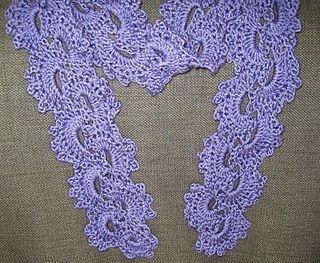 17 best ideas about crochet lace scarf on pinterest