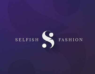 """Check out new work on my @Behance portfolio: """"Logo   Selfish Fashion"""" http://on.be.net/1Z7qCO5"""