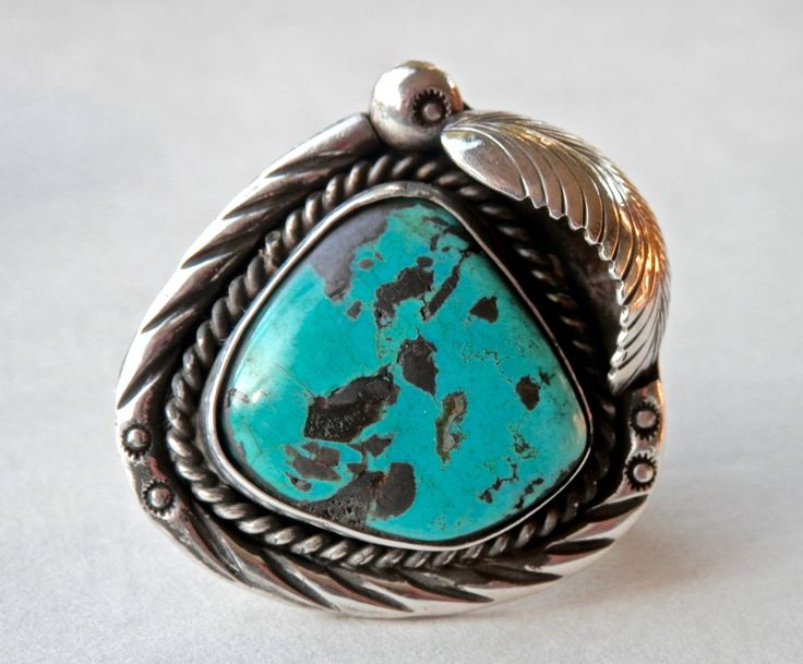 Navajo Ring Turquoise Ring Turquoise Jewelry Mens Ring Size 9 Native American Southwestern Jewelry Vintage Navajo Jewelry 925