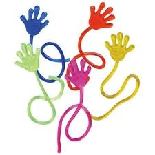 Sticky Hands. Awesome quarter machines. These use to be huge, not tiny like they are today.