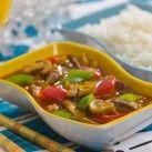 Kinesisk gryta med hemmagjord sötsur sås - Recept från Mitt kök - Mitt Kök