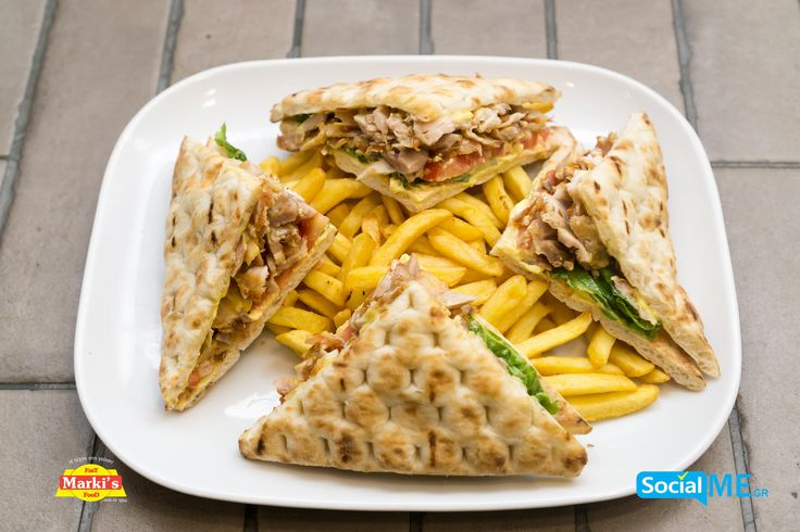 Club Sandwich Γύρο Κοτόπουλο για τους λάτρεις του κοτόπουλου!! Παραγγελία Online: www.markisfood.gr με -20% στην πρώτη σου παραγγελία..!!! #MarkisFood #Food #Thessaloniki